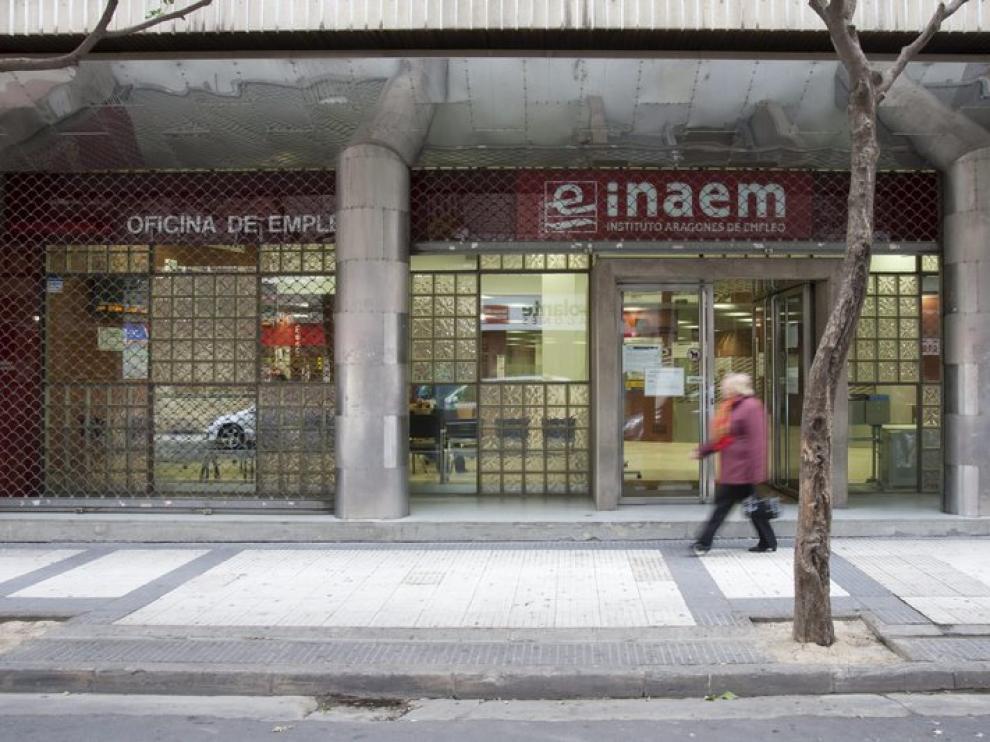 El paro en Aragón sube en 2.843 personas en octubre