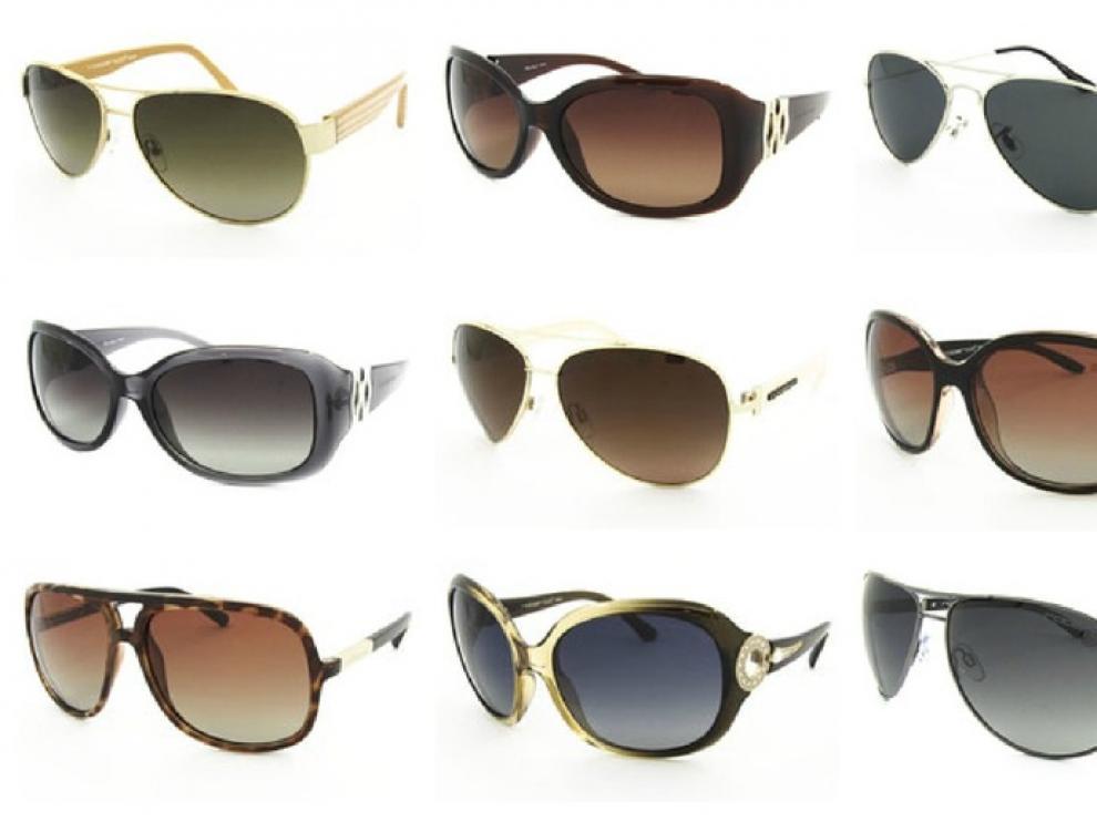 Varios modelos de gafas de sol