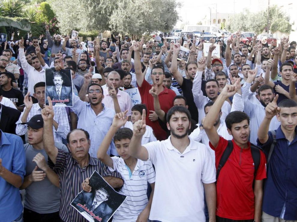 Partidarios de Mursi se manifiestan