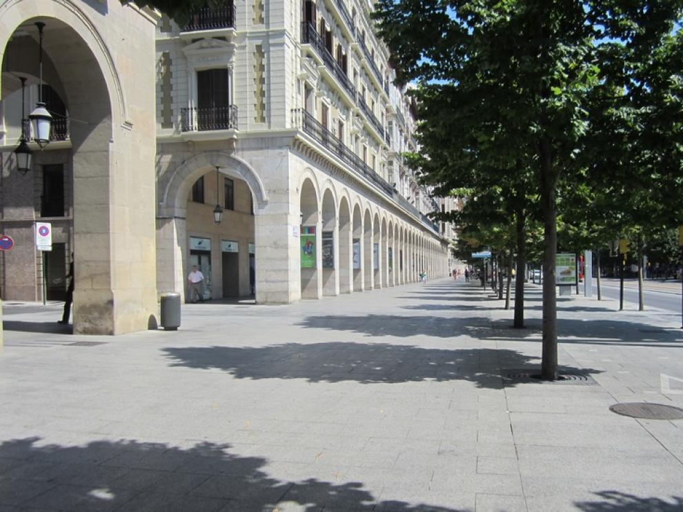 Zaragoza a 15 de agosto
