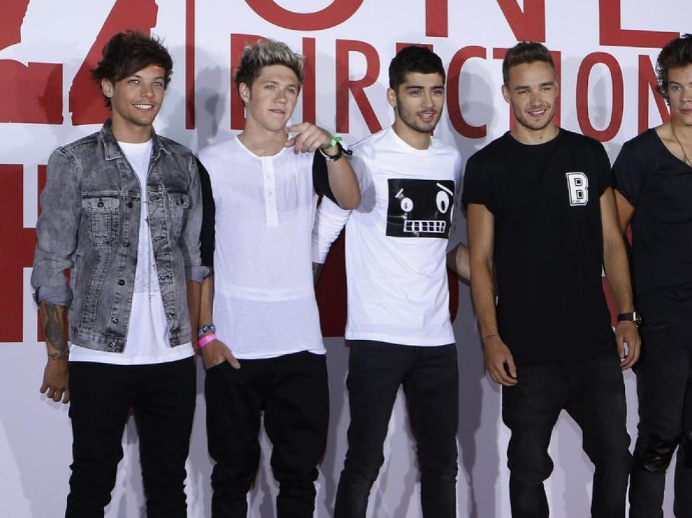 One Direction, en la presentación del documental.