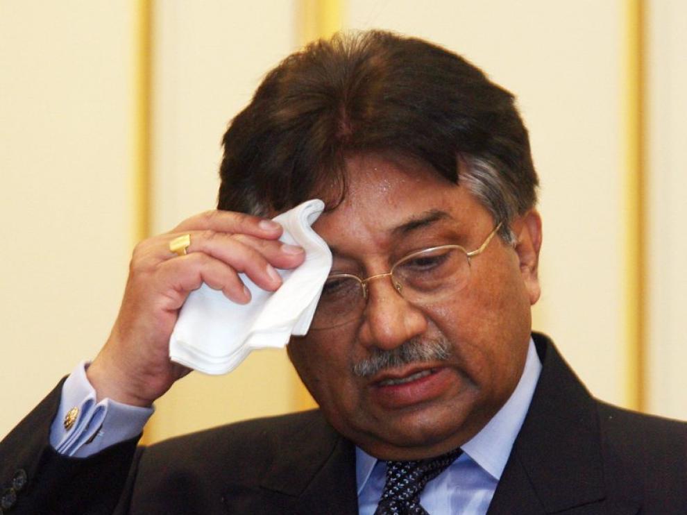 Foto de archivo de Pervez Musharraf