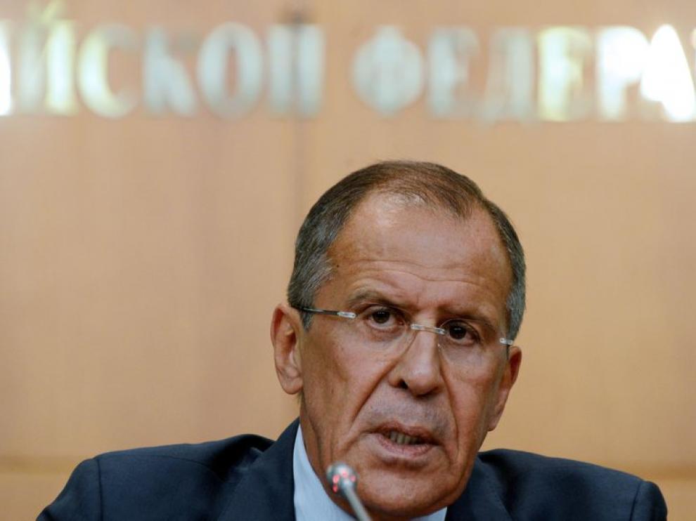 El ministro de Asuntos Exteriores de Rusia, Serguei Lavrov