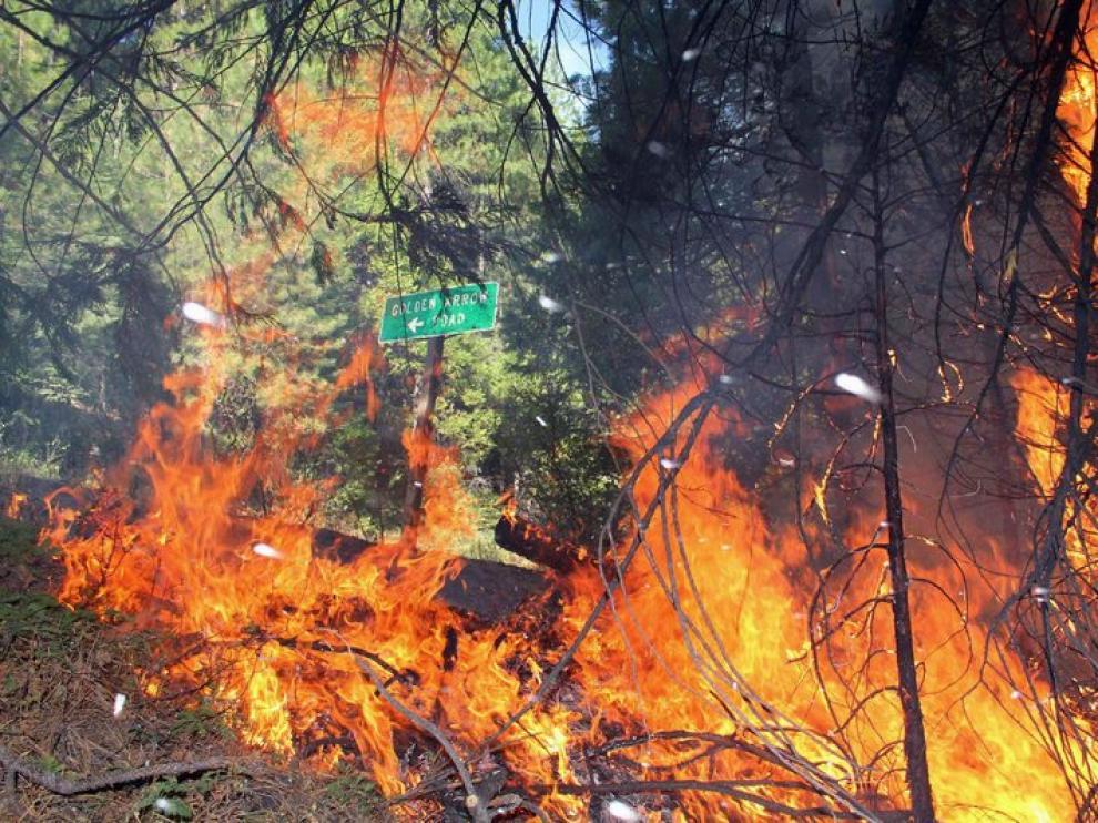 El fuego comenzó el pasado 17 de agosto.