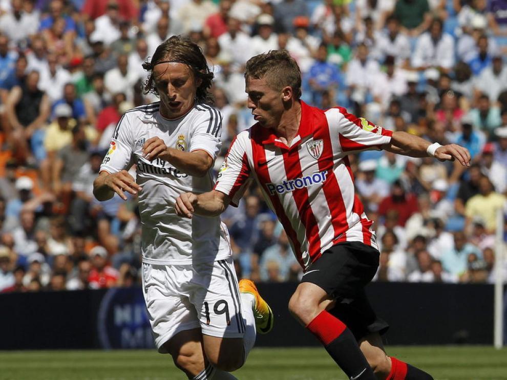 Una imagen del Real Madrid-Athletic