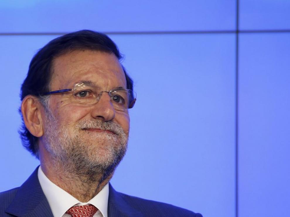 Mariano Rajoy en el Comité Ejecutivo del PP.