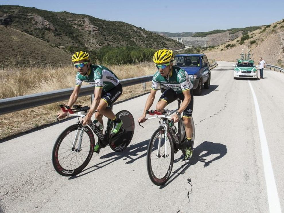 La Vuelta ciclista en Tarazona