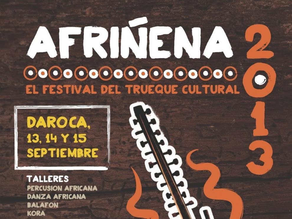 Cartel de la tercera edición del festival Afriñena.