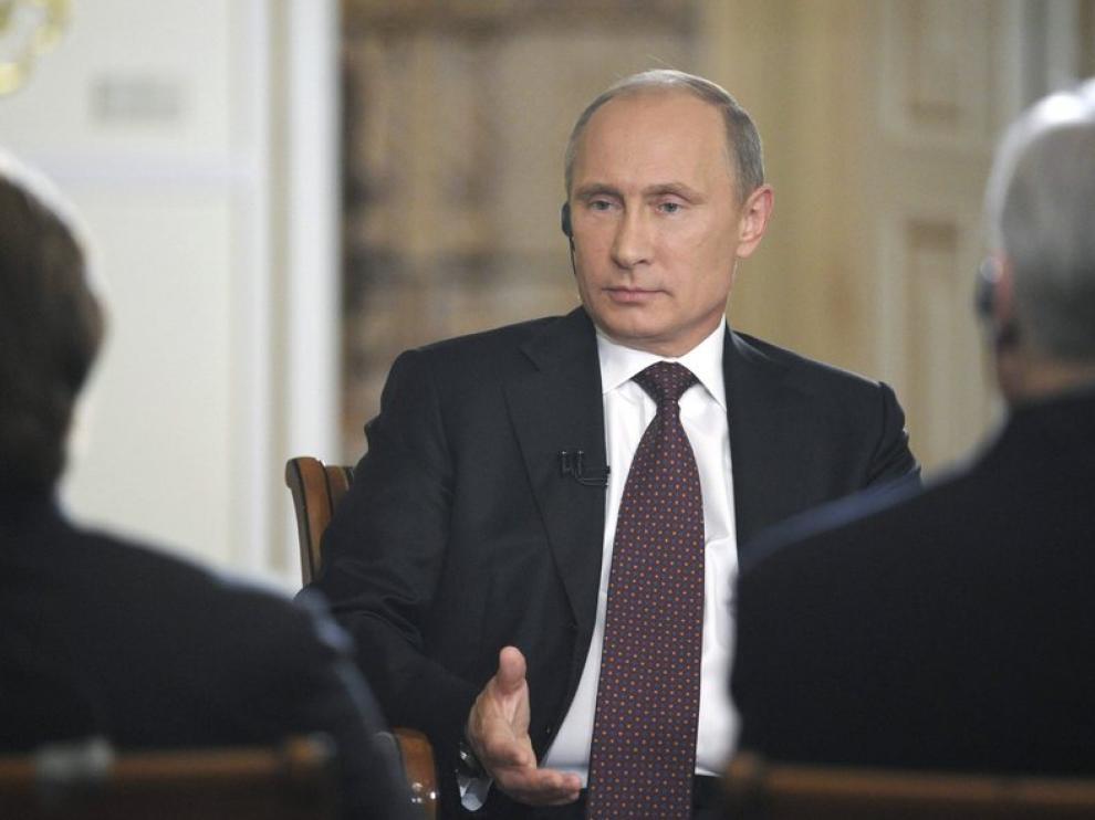 El presidente de Rusia, Vladimir Putin, este miércoles.