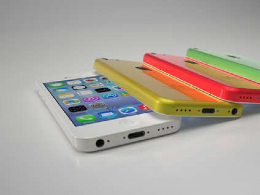 Supuesta imagen del iPhone 5C, terminal de bajo precio.
