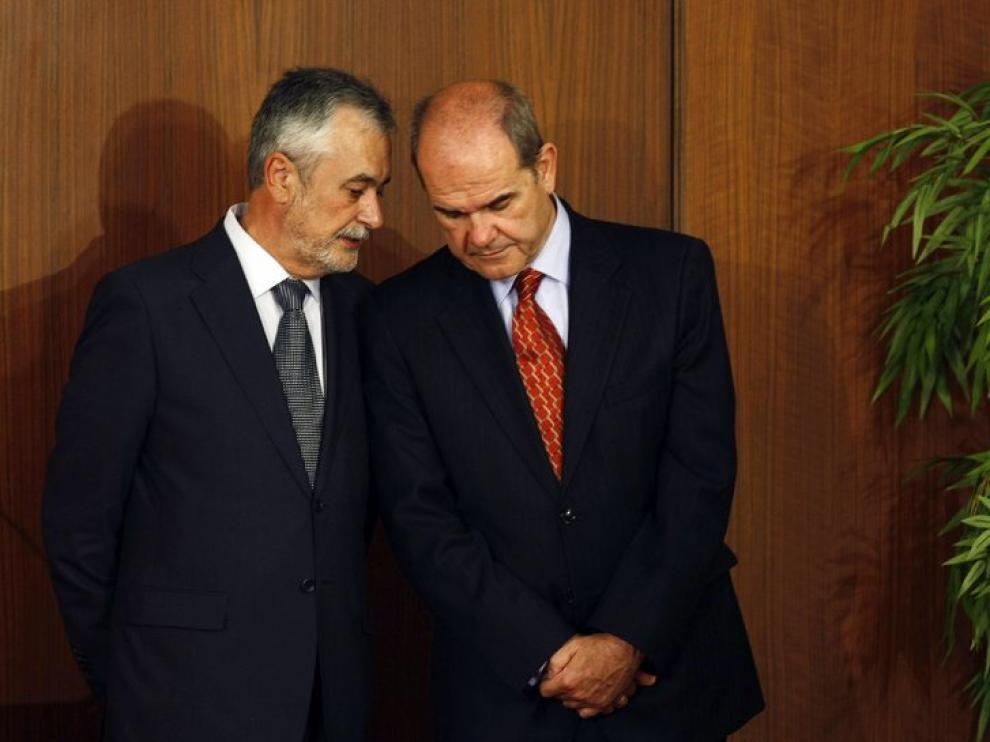 Antonio Griñán y Manuel Chaves