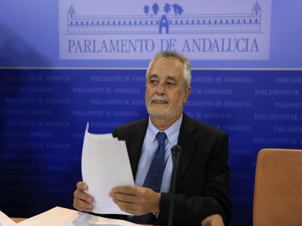 Griñán, designado senador