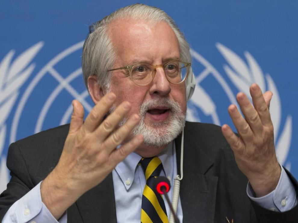 Presidente de la comisión independiente de investigación Paulo Pinheiro