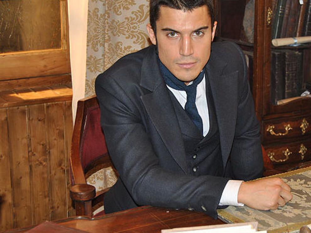 Álex González, que da vida a Don Joaquín Montes