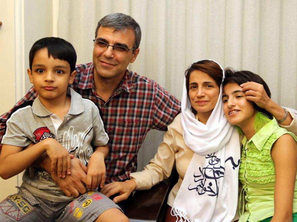 Liberada la activista iraní Nasrin Sotudeh