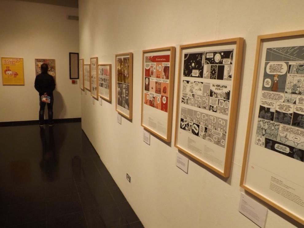 Vista de las exposiciones