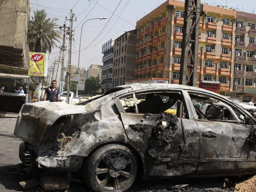 Dos coches bomba en Bagdad