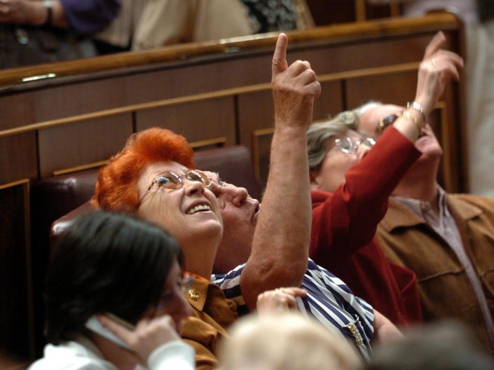 Los disparos del Congreso siempre han sido un gran atractivo para los visitantes
