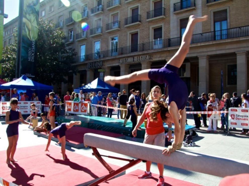 Deporte en la calle, en Zaragoza