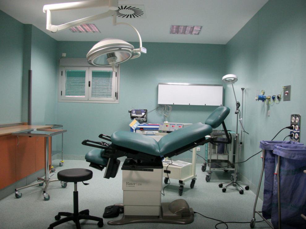 Un quirófano del hospital Miguel Servet