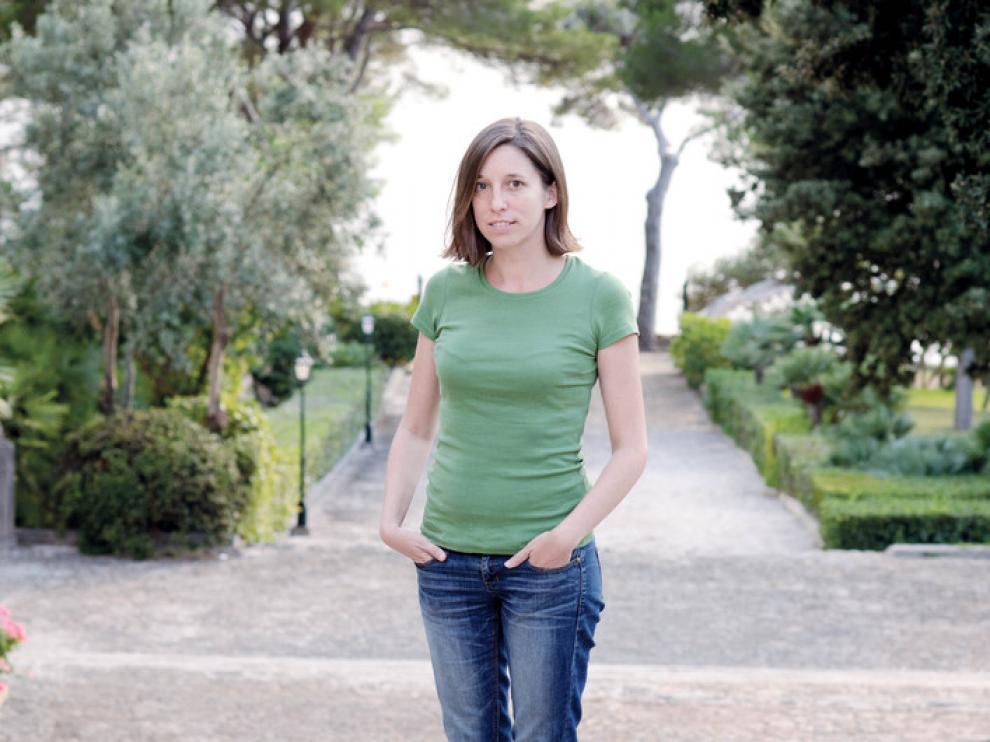 La escritora Llucia Ramis