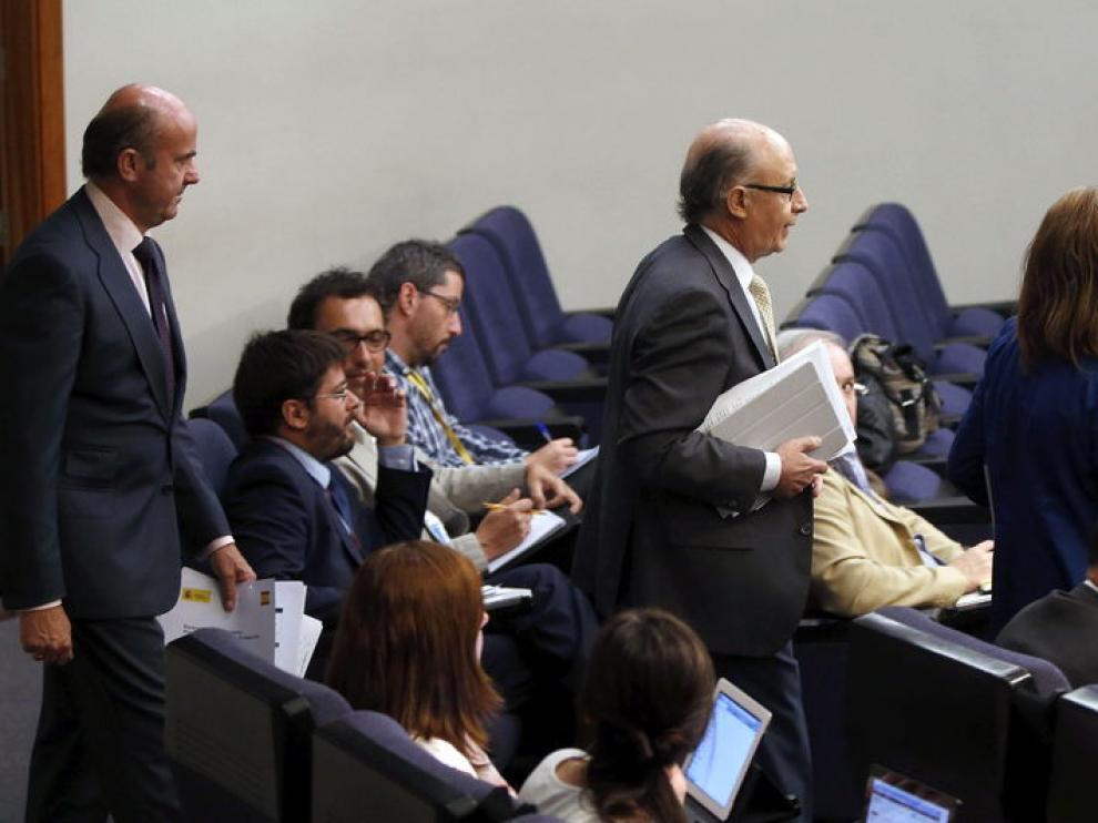 Rueda de prensa del tras el Consejo de Ministros