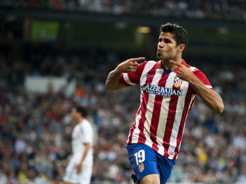 El gol de Diego Costa dio la victoria al Atlético