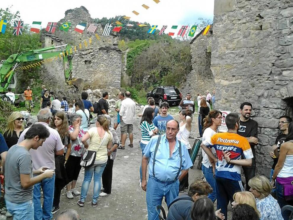 Regreso anual para celebrar la fiesta de San Miguel