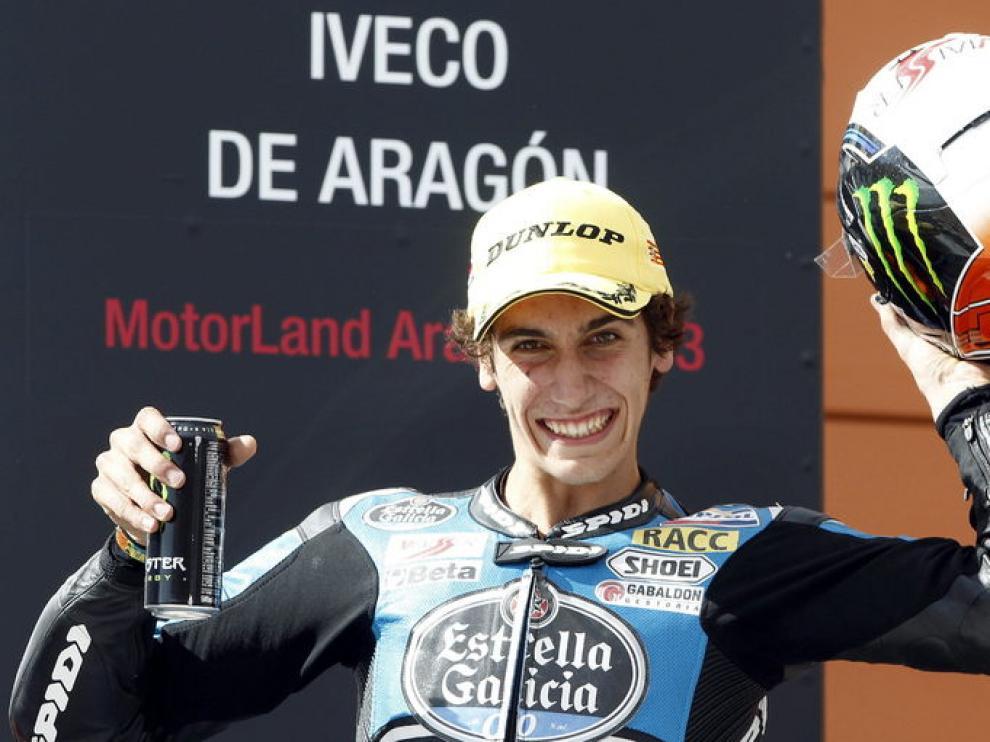 """Rins: """"Llego con bastante optimismo y muy motivado al circuito de Aragón"""""""