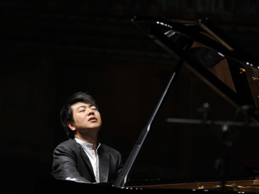 El pianista Lang Lang, en un concierto