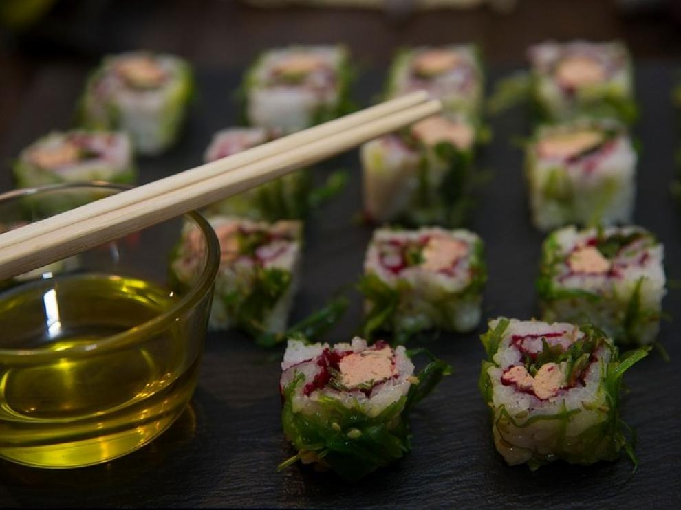 Makis, uno de los platos más reconocidos de la cocina japonesa