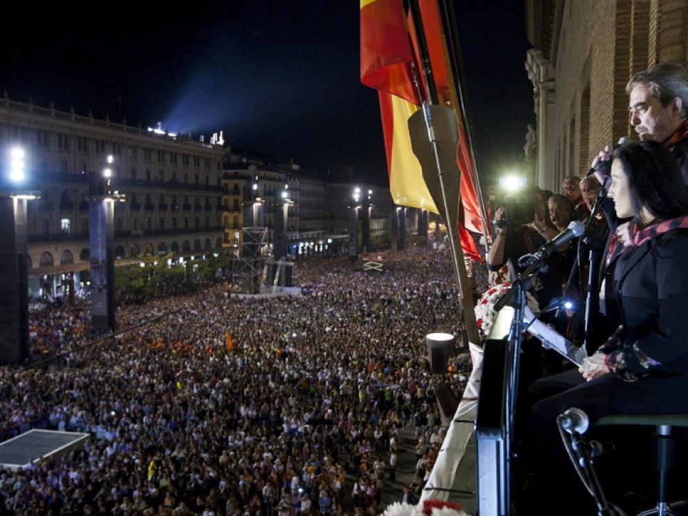 Pregón de las Fiestas del Pilar 2012
