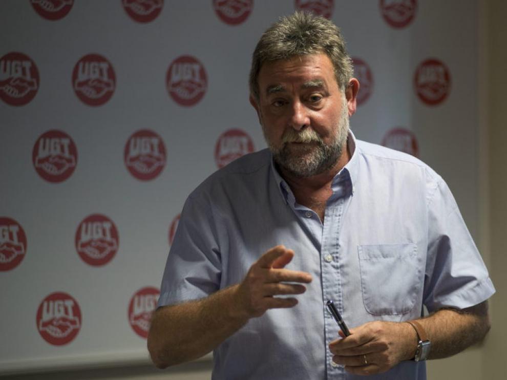 El secretario general de UGT en Andalucía, Fernández Sevilla