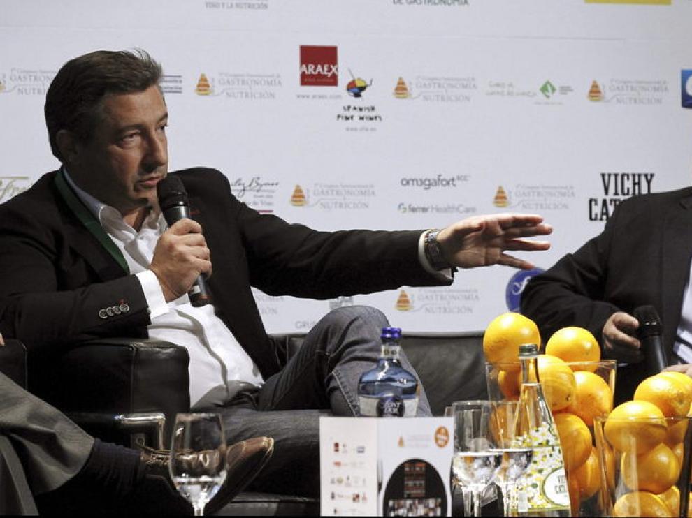 Los reconocidos chefs Joan Roca (i) y Martín Berasategui (d)