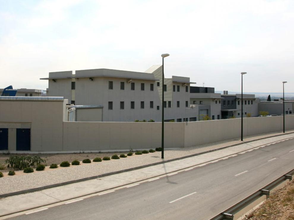 El centro de menores de Juslibol, centro de referencia en Aragón.
