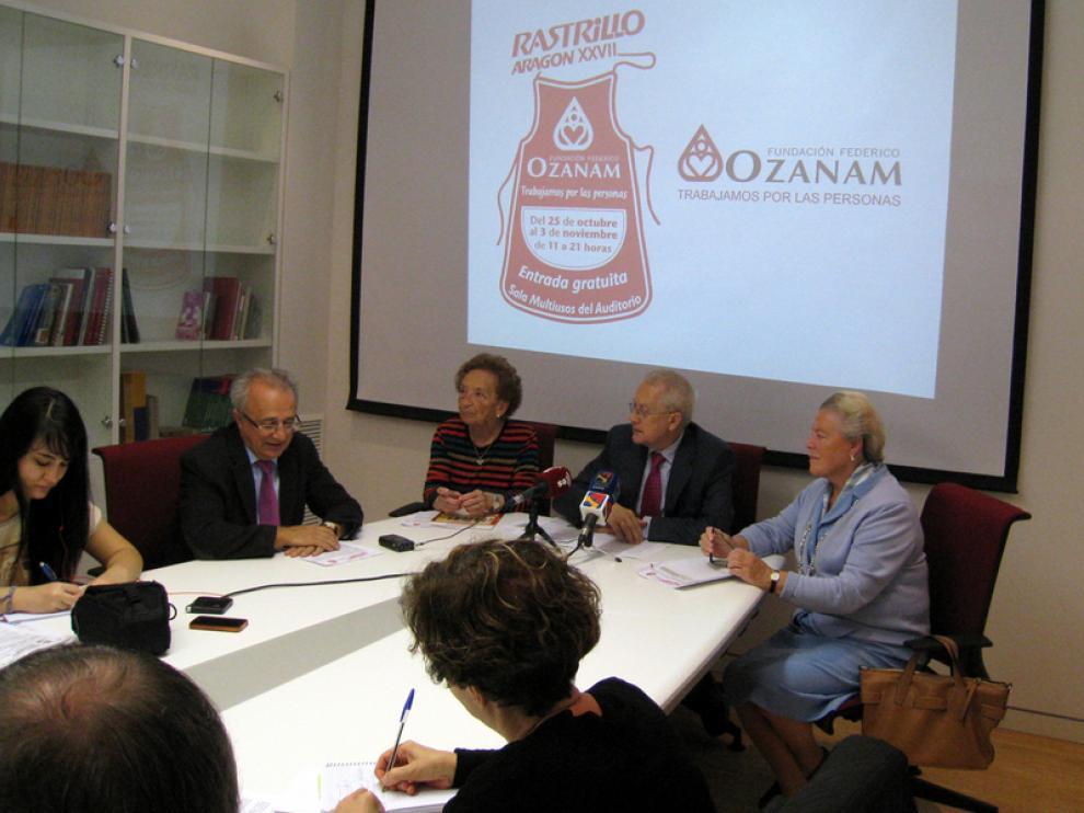 Presentación del Rastrillo de Federico Ozanam