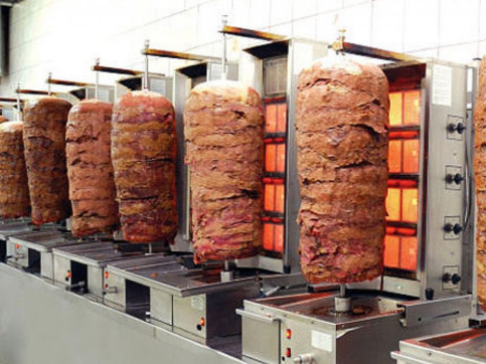 La carne gira hasta coger el punto exacto