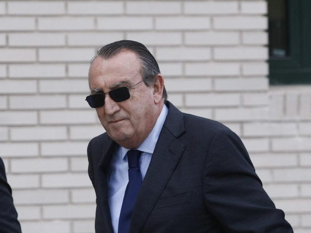 El expresidente de la Diputación de Castellón Carlos Fabra
