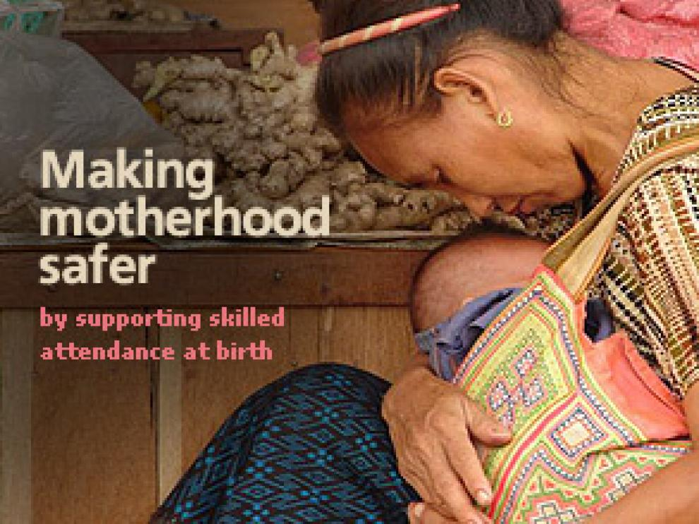 Entre los avances más destacables figura que los once países donde la mortalidad materna era más alta en 1990 han reducido esta tasa en un 75%.