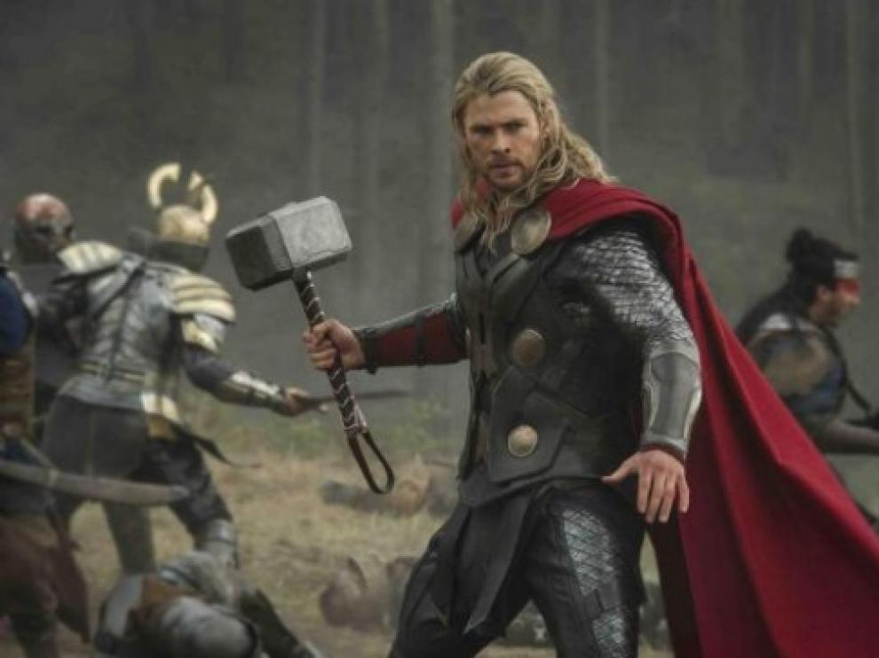 Chris Hemsworth protagoniza  'Thor: el mundo oscuro'