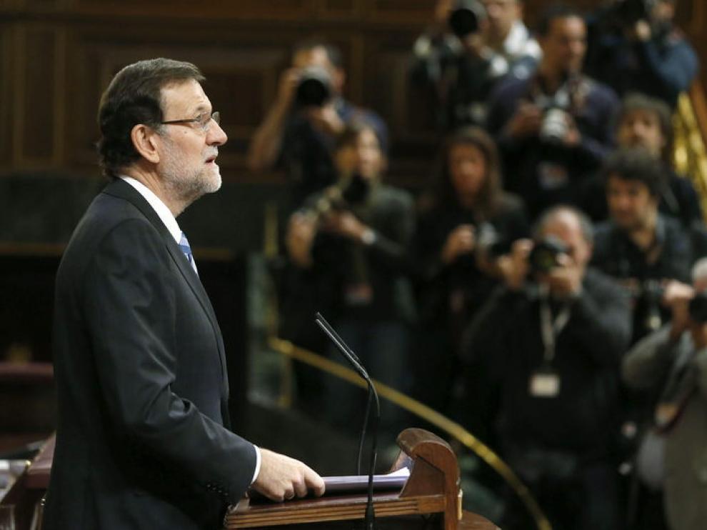 Mariano Rajoy, en una foto de archivo en el Congreso.