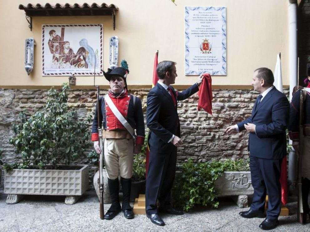 Homenaje a los soldados polacos que lucharon en Zaragoza