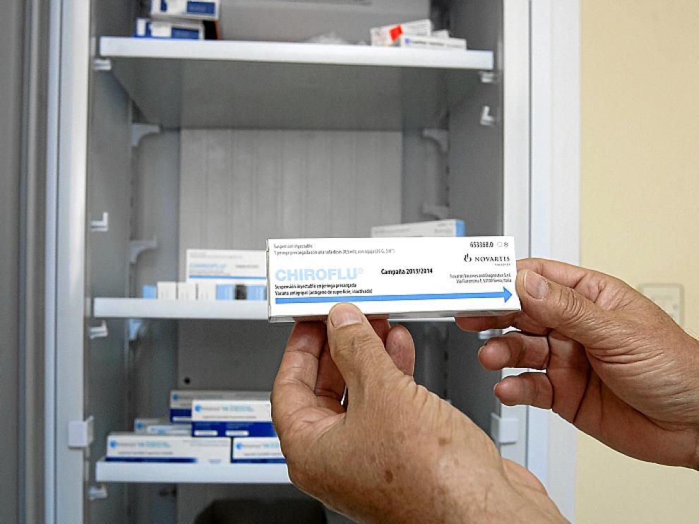 Esta es una de las vacunas para la gripe de este año