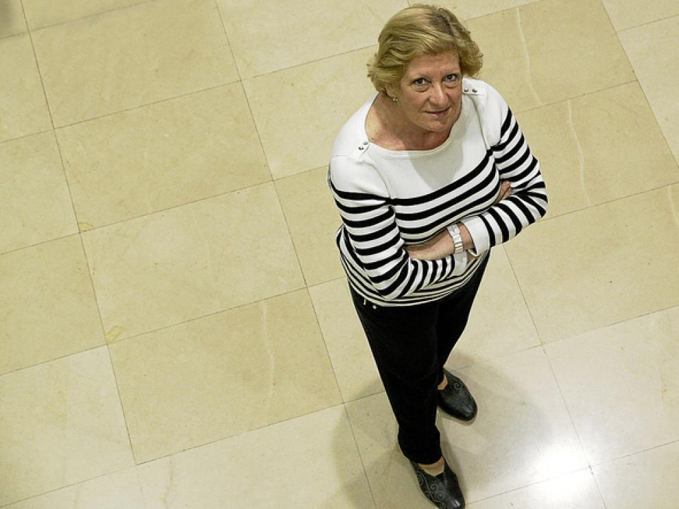 Concha Ferrer, la nueva presidenta del Colegio de Médicos de Zaragoza