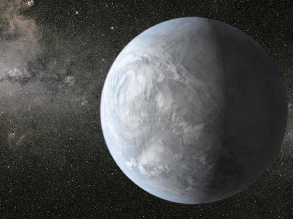 Kepler-62e es un planeta del tamaño de la Tierra