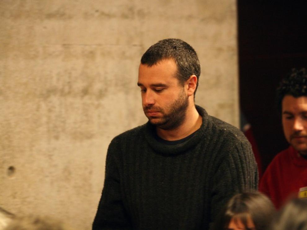Mónica Caballero y Francisco Solar, durante los juicios en Chile por el 'caso Bombas'