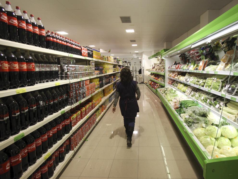 Un supermercado aragonés