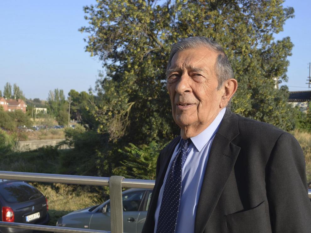 León Buil, el pasado septiembre.