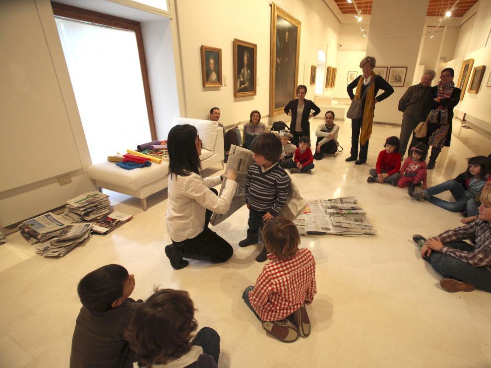Actividades en el Museo de Huesca.