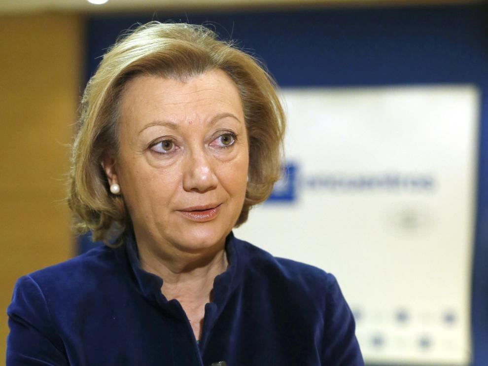 Luisa Fernanda Rudi, presidenta de la DGA